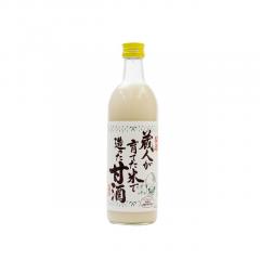 蔵人が育てた米で造った甘酒