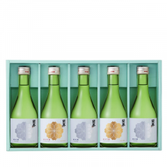 純米酒3本・純米吟醸2本(J-28)