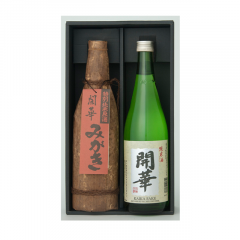 みがき竹皮・開華純米酒(TJ-30)