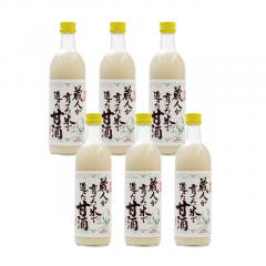 蔵人が育てた米で造った甘酒500ml(チャリティ)