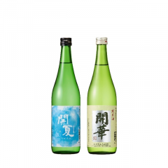 開夏の純米吟醸&純米セット(送料込)