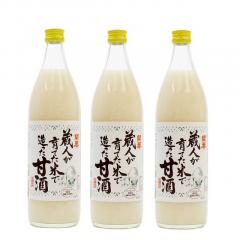 ※【WEB限定】甘酒900ml×3本(送料込)